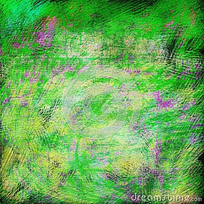 La source lumineuse colore le fond abstrait texturisé