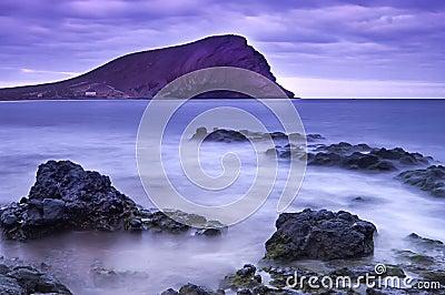 La Tejita beach, Tenerife, Canary islands, Spain