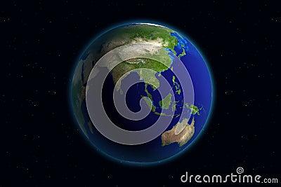 La terre - Asie