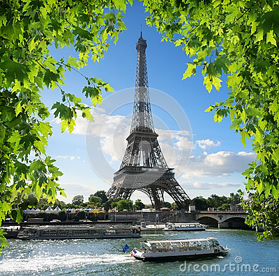 Free La Tour D`Eiffel Stock Photo - 87524220