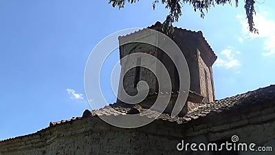 La tour de l'ancien monastère banque de vidéos