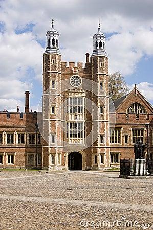 La tour de Lupton, université d Eton, Berkshire