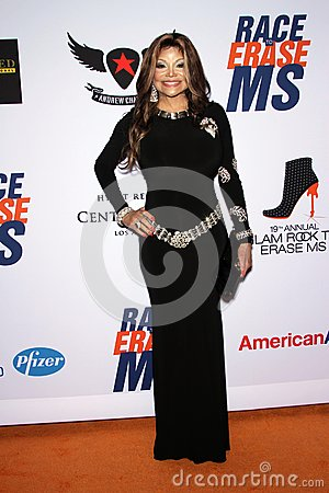 La Toya Jackson at the 19th Annual Race To Erase MS, Century Plaza, Century City, CA 05-19-12 Editorial Stock Image