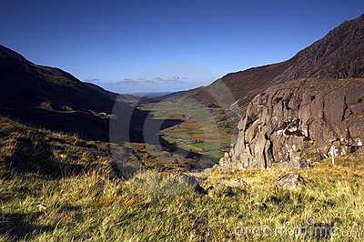 La vallée d Ogwen
