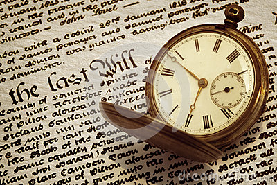 La vieille montre de poche et
