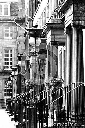 La ville neuve, Edimbourg