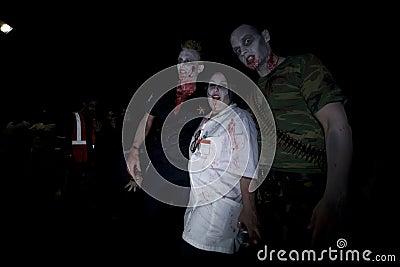 LA Zombie Walk 19 Editorial Stock Photo