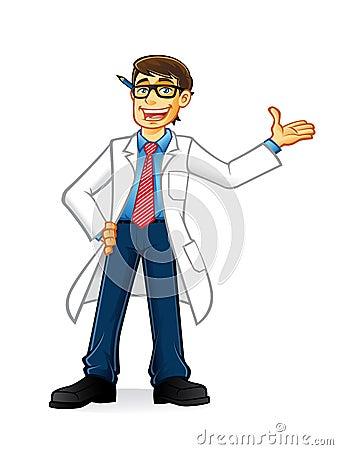 Lab Geek Man