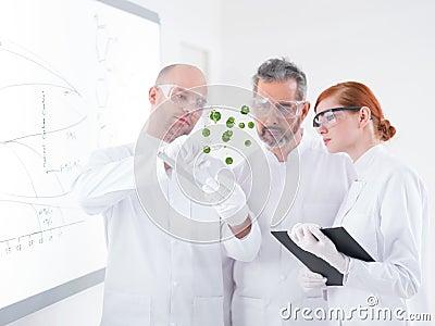 Lab green samples analysis