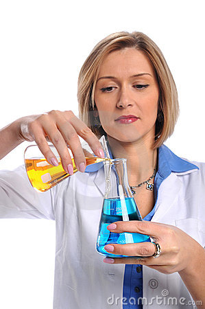 Lab Tech Using Flasks