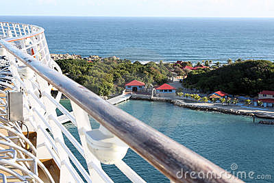 Labadee Haiti off a cruise ship