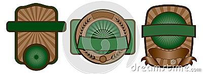 Label Emblem Set