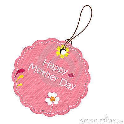 Free Label For Mother S Day Stock Photography - 13913312