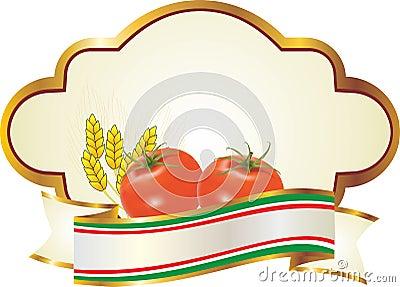 Label for fresh fruit