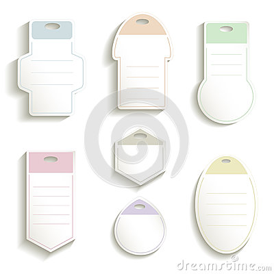 Label paper 3D color