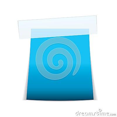 Label tag icon cyan