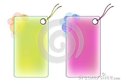 Labels color design