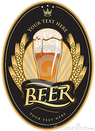 Free Labels For The Beer Royalty Free Stock Image - 25912736