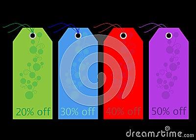 Labels / Tags -  Sale / Discount