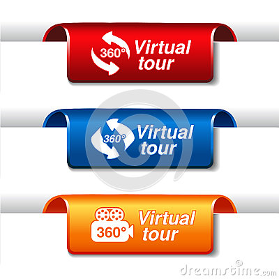 Labels for virtual tour