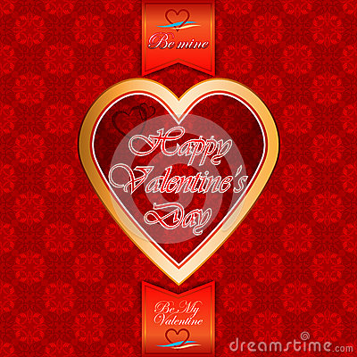 Free Labels With Happy Valentine S Day; Be My Valentine/Be Mine Text Royalty Free Stock Photography - 50088277