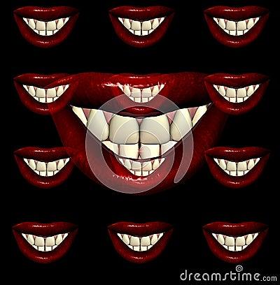 Labios 9 del beso