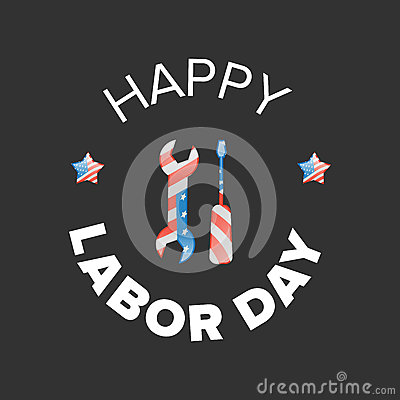 Free Labor Day Banner Stock Photography - 89877972