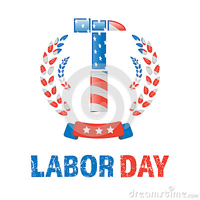 Free Labor Day Banner Stock Images - 89878114
