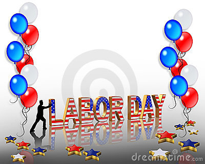Labor Day Graphic Background