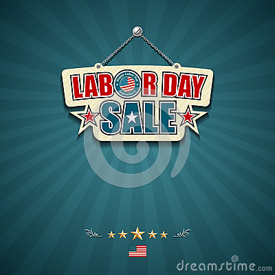 Labor day sale American signs