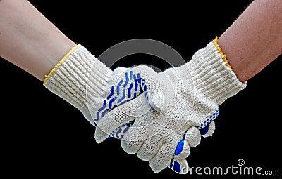 Labor handshake