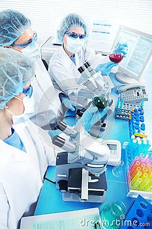 Free Laboratory Royalty Free Stock Image - 18315736