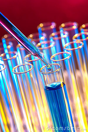Free Laboratory Experiment In Science Research Lab Stock Images - 5358044
