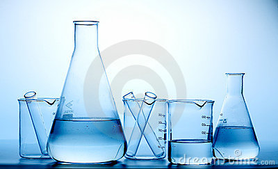 Laboratory Flasks/bottle Stock Photography - Image: 18356382