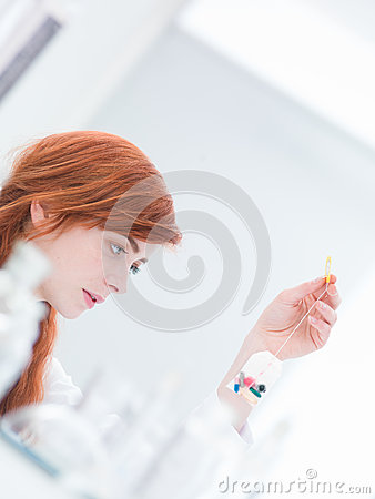 Laboratory pills examination