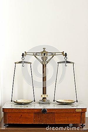 Free Laboratory Scales Stock Image - 696601