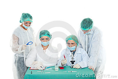 Laboratory teamwork