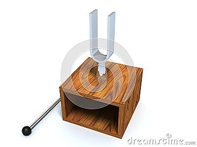 Laboratory tuning fork