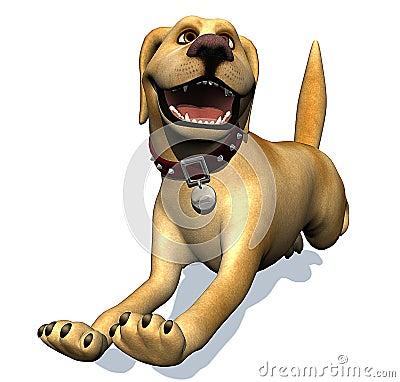 Labrador cartoon