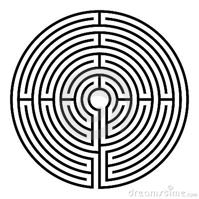 Free Labyrinth Royalty Free Stock Images - 12531639
