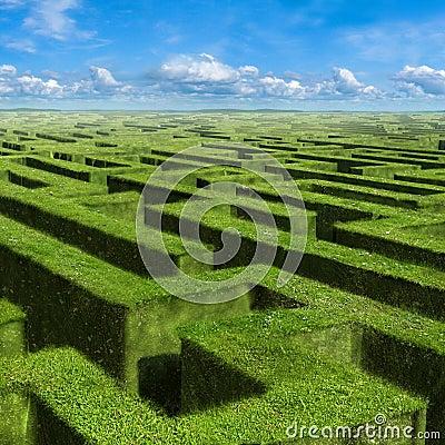 Free Labyrinth Royalty Free Stock Photos - 9803018