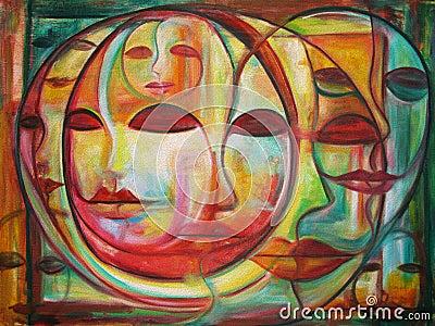 Labyrinth der Gesichter