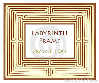 Labyrinth frame