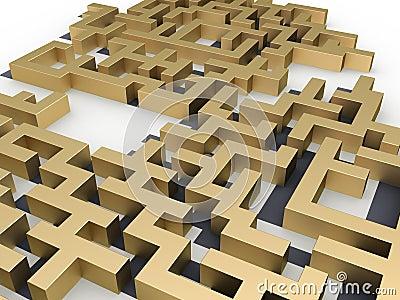 Labyrinth of gold №2