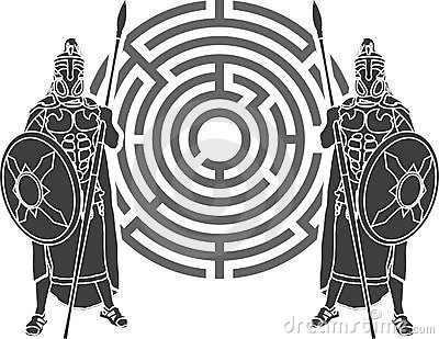 Labyrinth and guards