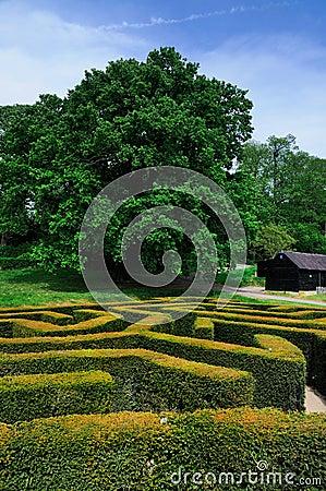 Labyrinth of Leeds Castle
