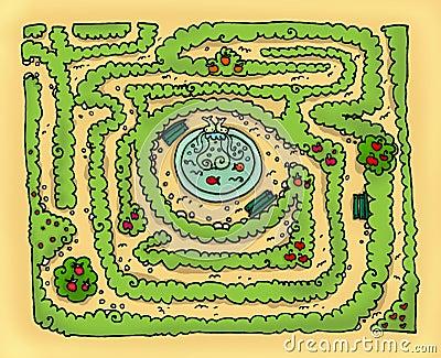 Labyrinth park