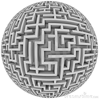 Free Labyrinth Planet Stock Images - 19349874