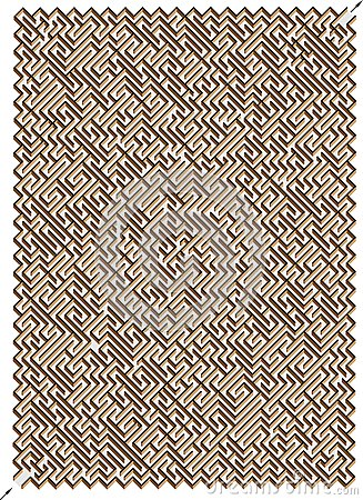 Labyrinthe 3D. Une bonne manière