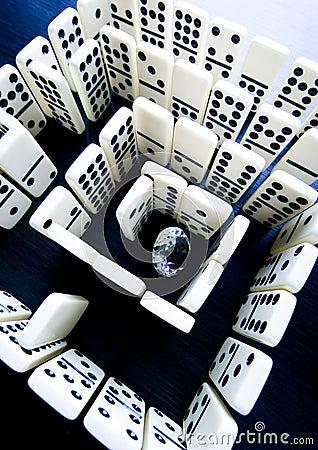 Labyrinthe et diamant